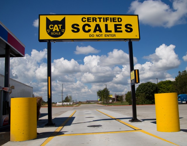 CAT Certified Scales.