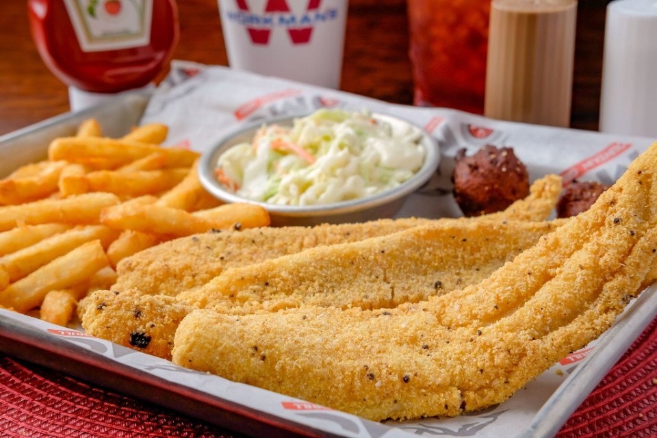 Southern Fried Catfish (3 pcs)