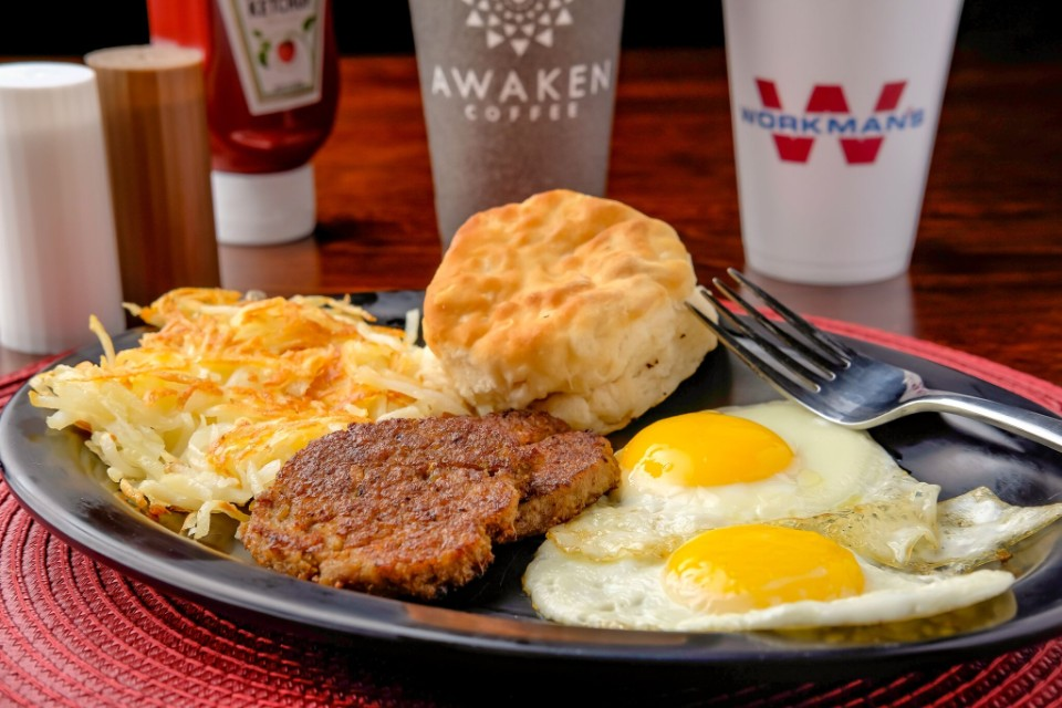 Ozark Mountain Sunrise Plate